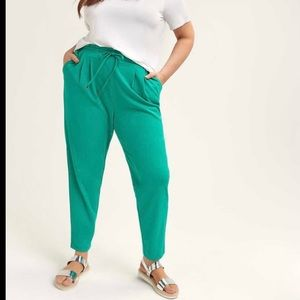 Penningtons Pull-on Ankle Pant with Smocked Wait